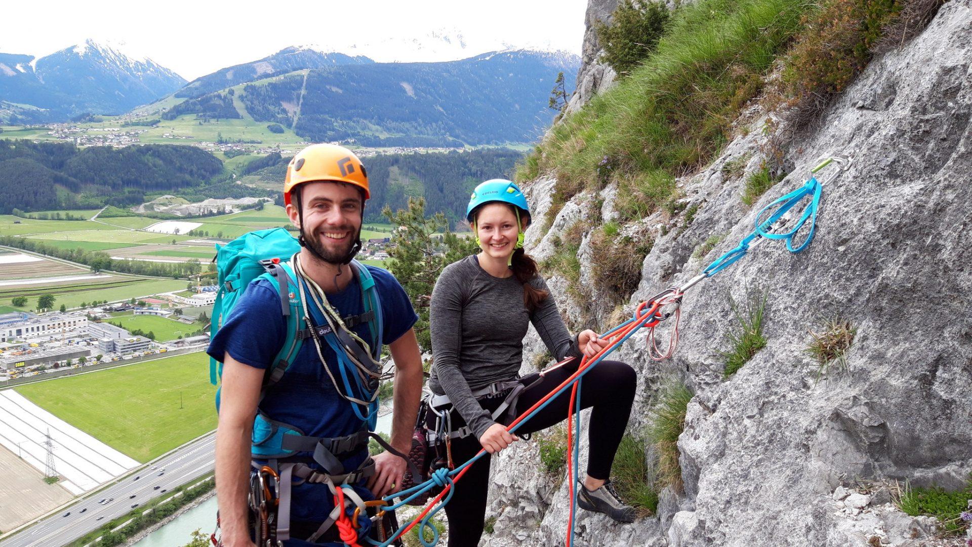 Alpinklettern wilder Kaiser
